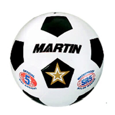 Dick Martin Sports Soccer Ball White Size 3 Rubber