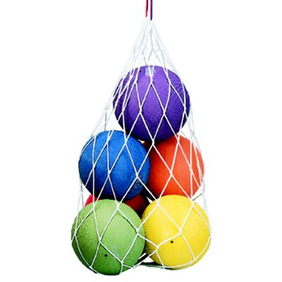 Dick Martin Sports Ball Carry Net Bag 4 Mesh W/