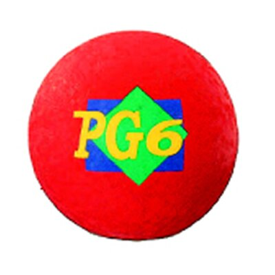 Dick Martin Sports Playground Ball Red 6 In 2 Ply