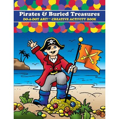 Do A Dot Art Pirates & Buried Treasures Do-a-dot