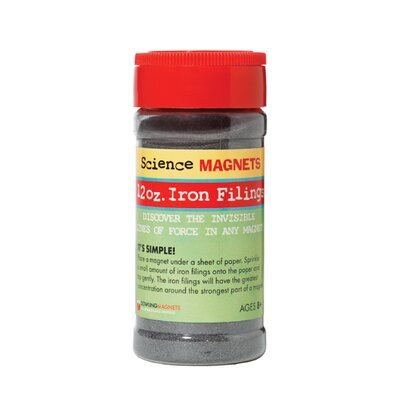Dowling Magnets 12 Oz Jar Iron Filings