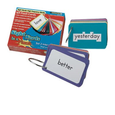 Edupress Sight Words In A Flash Set 1 gr k-1