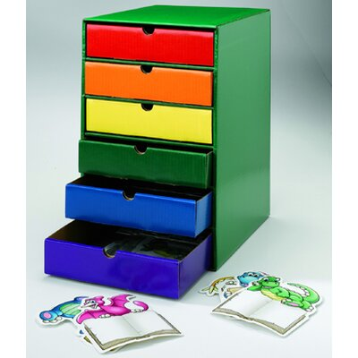 Edupress Drawers Assorted Colors Set Of 6