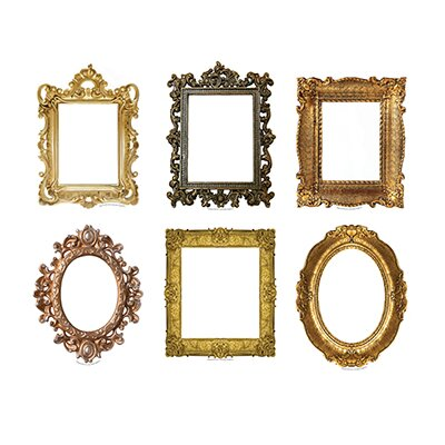 Edupress Fancy Frames Bulletin Board Accent (Set of 43)