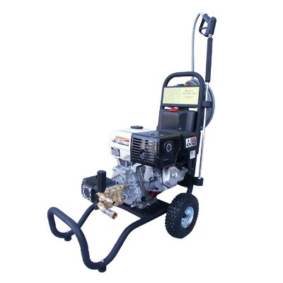3000 PSI Cold Water Gas Pressure Washer with 11 HP Honda Engine