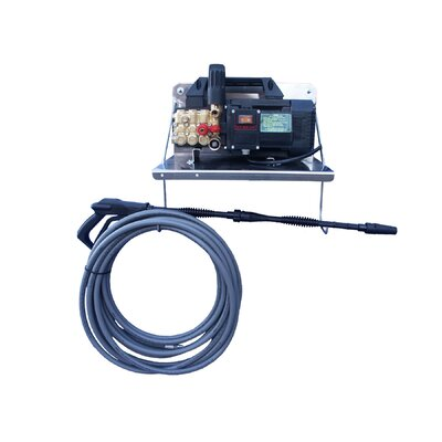 1450 PSI Cold Water Electric Wall Mount Pressure Washer with Mechanical Thermal Relief