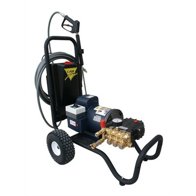 Cam Spray 2000 PSI Cold Water Electric Tube Cart Pressure Washer with 5 HP Engine