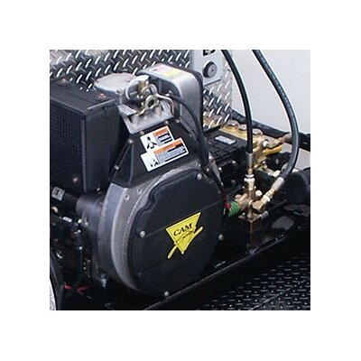 Cam Spray 3000 PSI Hot Water Gas Trailer Mounted Pressure Washer with 13 HP Honda Engine