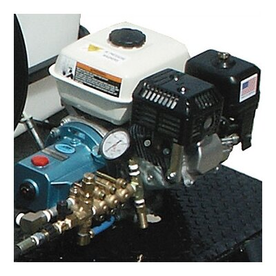 Cam Spray 2500 PSI Cold Water Gas Trailer Mounted Pressure Washer with 6.5 HP Honda Engine