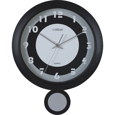 Caliber Round Pendulum Wall Clock