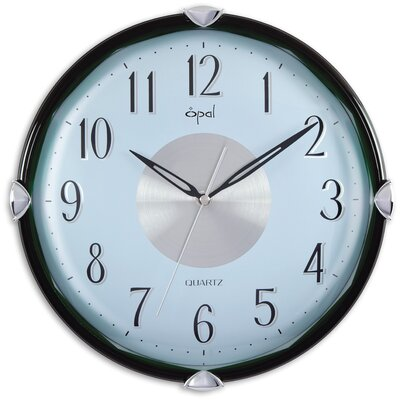 Opal Luxury Time Products Opal Dome Glass Case Clock in Green
