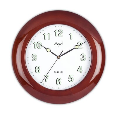Opal Luxury Time Products Opal Wooden Clock