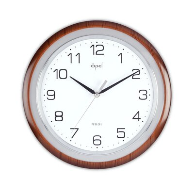Opal Round ABS Case Clock