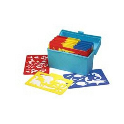 Essential Learning Products Stencil Mill 24/pk In Plastic Box (Set of 24)