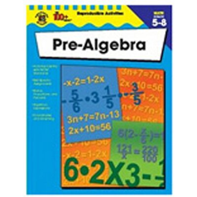 Frank Schaffer Publications/Carson Dellosa Publications Pre-algebra Revision Of If8761