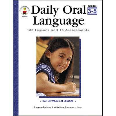Frank Schaffer Publications/Carson Dellosa Publications Daily Oral Language Gr 3-5