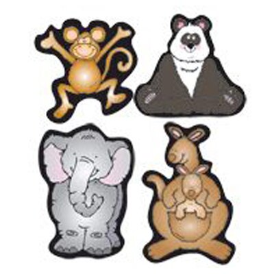 Frank Schaffer Publications/Carson Dellosa Publications Zoo Friends Shape Stickers