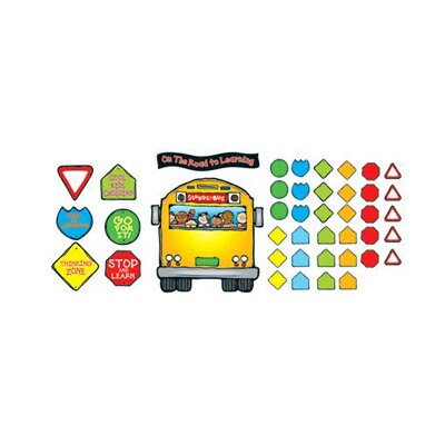 Frank Schaffer Publications/Carson Dellosa Publications School Bus Bulletin Board Set