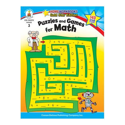 Frank Schaffer Publications/Carson Dellosa Publications Puzzles & Games For Math Home