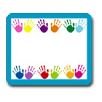 Frank Schaffer Publications/Carson Dellosa Publications Name Tags Handprints 40/pk