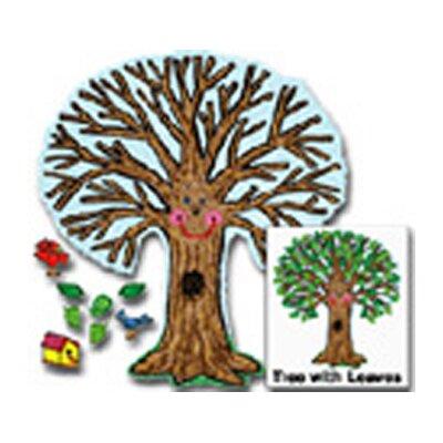 Frank Schaffer Publications/Carson Dellosa Publications Bb Set Big Tree Kid-drawn 48 X 54