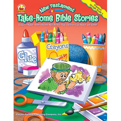 Frank Schaffer Publications/Carson Dellosa Publications Take-home Bible Stories New