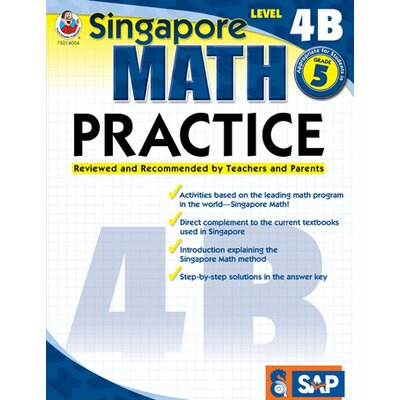 Frank Schaffer Publications/Carson Dellosa Publications Math Practice Level 4b Gr 5