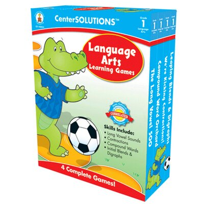 Frank Schaffer Publications/Carson Dellosa Publications Language Arts Learning Games Gr 1