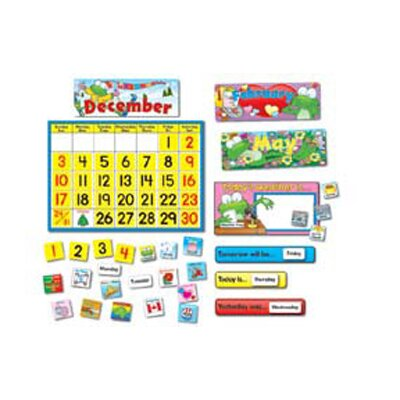 Frank Schaffer Publications/Carson Dellosa Publications Frog Calendar Bb Sets Calendar
