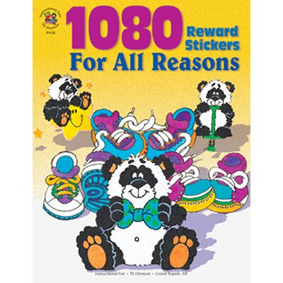 Frank Schaffer Publications/Carson Dellosa Publications Sticker Book For All Reasons 1080pk