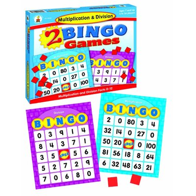 Frank Schaffer Publications/Carson Dellosa Publications Multiplication & Division Bingo