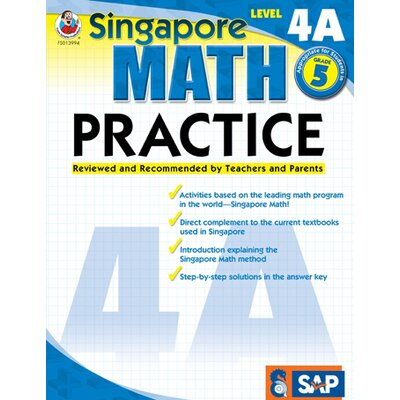 Frank Schaffer Publications/Carson Dellosa Publications Math Practice Level 4a Gr 5
