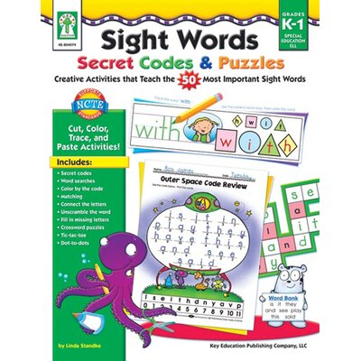 Sight Words Secret Codes & Puzzles