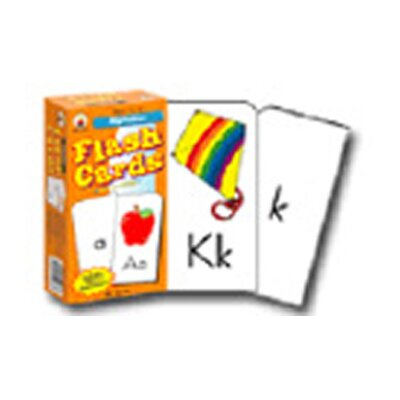 Frank Schaffer Publications/Carson Dellosa Publications Flash Cards Alphabet 6 X 3