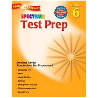 Frank Schaffer Publications/Carson Dellosa Publications Spectrum Test Prep Gr 6