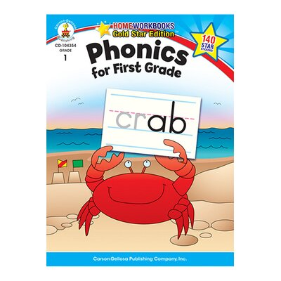 Frank Schaffer Publications/Carson Dellosa Publications Phonics For First Grade Home