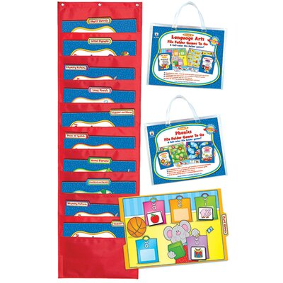 Frank Schaffer Publications/Carson Dellosa Publications Language Arts File Folder Games To