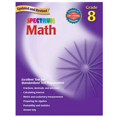 Frank Schaffer Publications/Carson Dellosa Publications Math Gr 8 Starburst