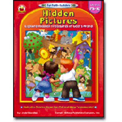 Frank Schaffer Publications/Carson Dellosa Publications Hidden Pictures Gr Pk-k Book