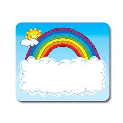 Frank Schaffer Publications/Carson Dellosa Publications Name Tags Sun N Rainbow