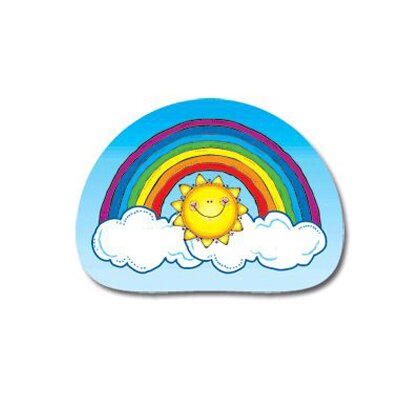 Frank Schaffer Publications/Carson Dellosa Publications Stickers Rainbows 144pk
