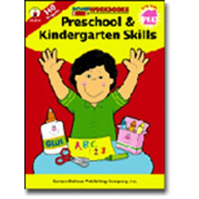 Frank Schaffer Publications/Carson Dellosa Publications Home Workbook Pk & Kinder Skills