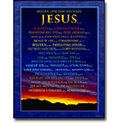 Frank Schaffer Publications/Carson Dellosa Publications Chartlet Names Of Jesus 17x22