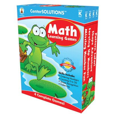 Frank Schaffer Publications/Carson Dellosa Publications Math Learning Games Gr K