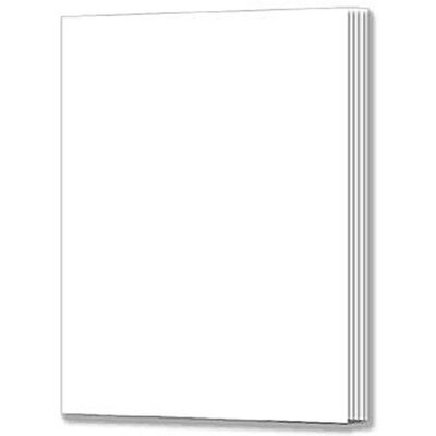 Frank Schaffer Publications/Carson Dellosa Publications Blank Book Rectangle 16 Pages 7x10