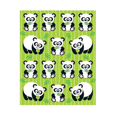 Frank Schaffer Publications/Carson Dellosa Publications Pandas Shape Stickers 84pk
