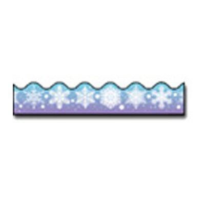 Frank Schaffer Publications/Carson Dellosa Publications Border Snowflakes Scalloped
