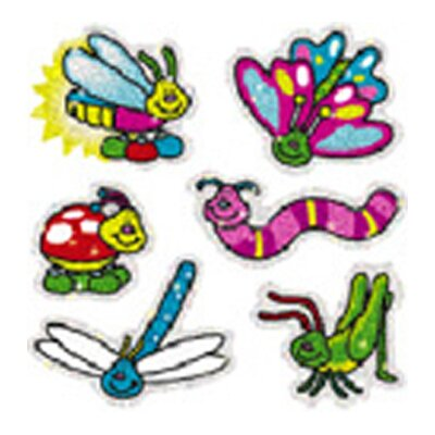 Frank Schaffer Publications/Carson Dellosa Publications Dazzle Stickers Bugs 90-pk Acid &