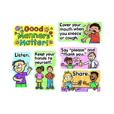 Frank Schaffer Publications/Carson Dellosa Publications Good Manners Matter Mini Bb Set