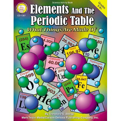Frank Schaffer Publications/Carson Dellosa Publications Elements & The Periodic Table